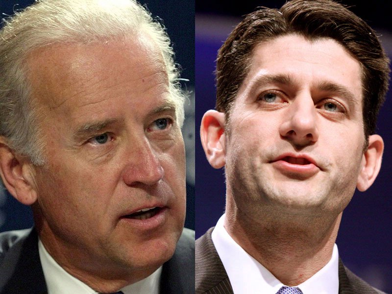 joe biden paul ryan vice president candidates