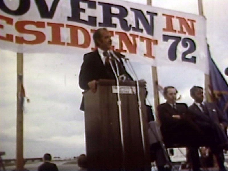 george mcgovern presidential campaign 1972