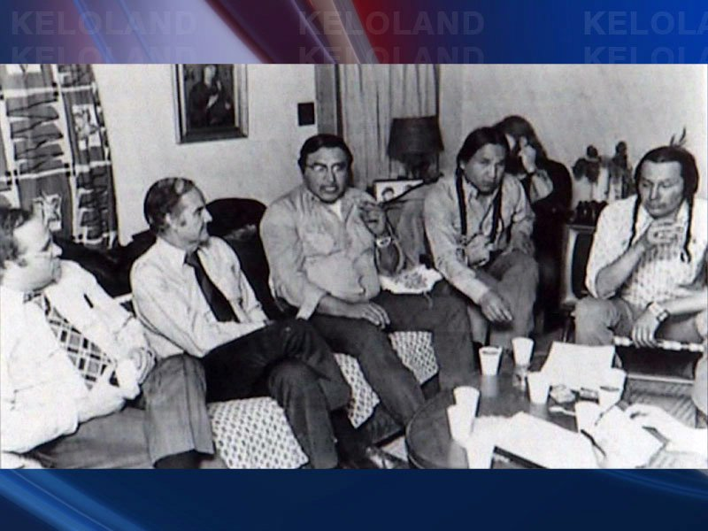 talks about george mcgovern and russell means