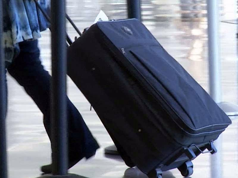 sioux falls airport suitcase travel