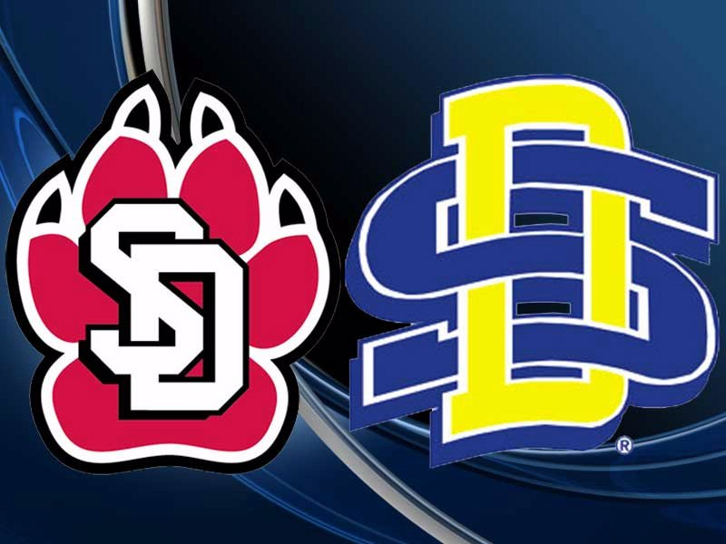 SDSU USD LOGOS together