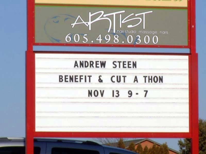 trooper steen benefit cut-a-thon