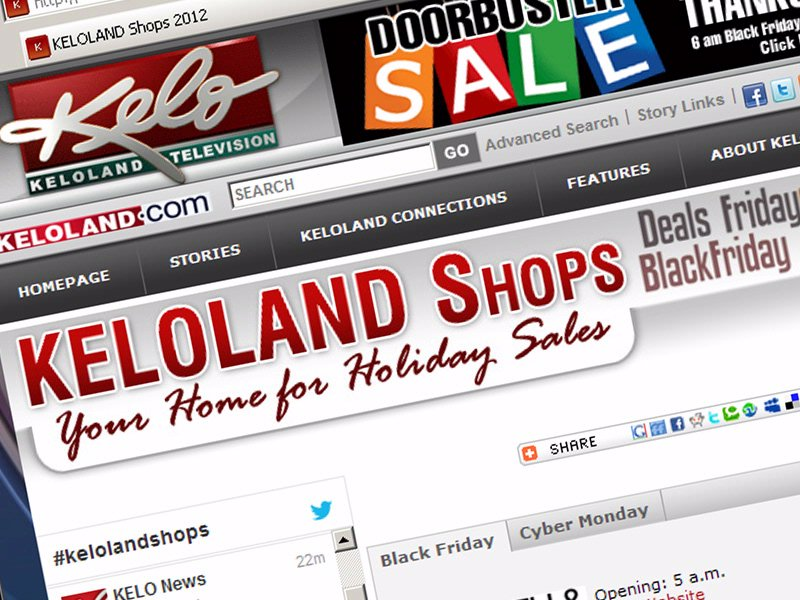 KELOLAND SHOPS black friday shopping guide keloland.com