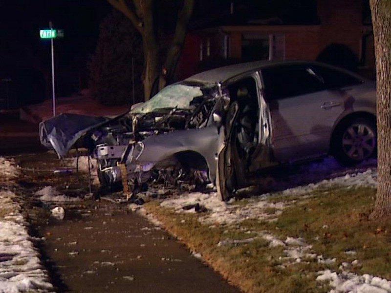 deadly sioux falls crash car into tree