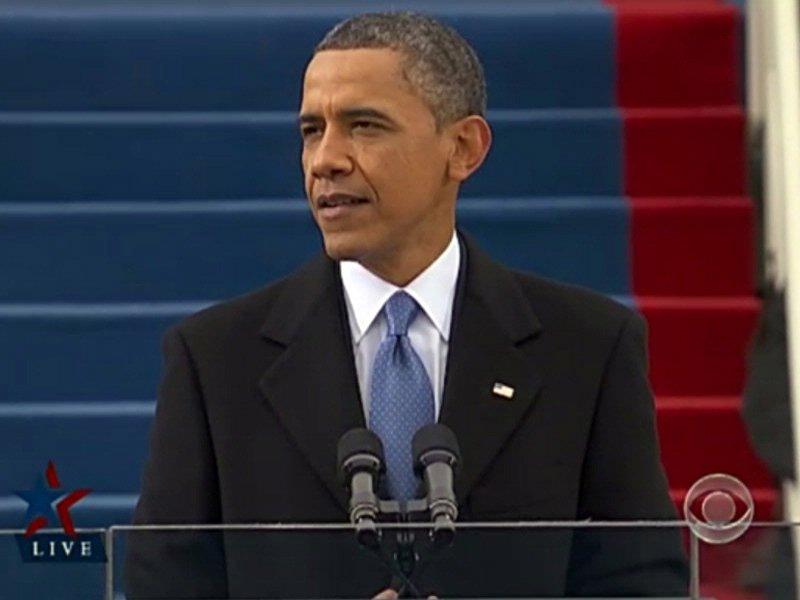 president barack obama inauguration speech