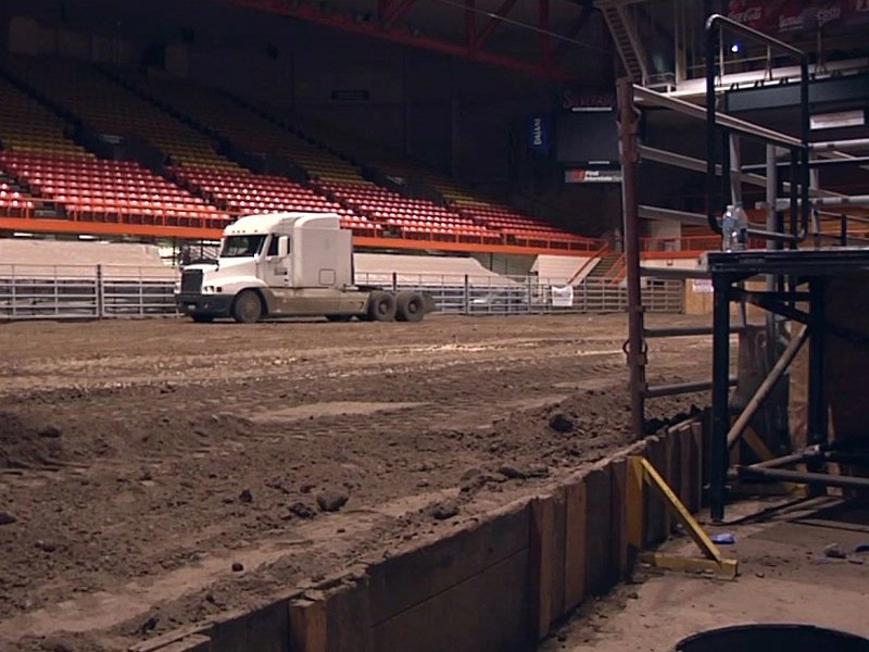 rapid city civic center becomes rodeo grounds for stock show