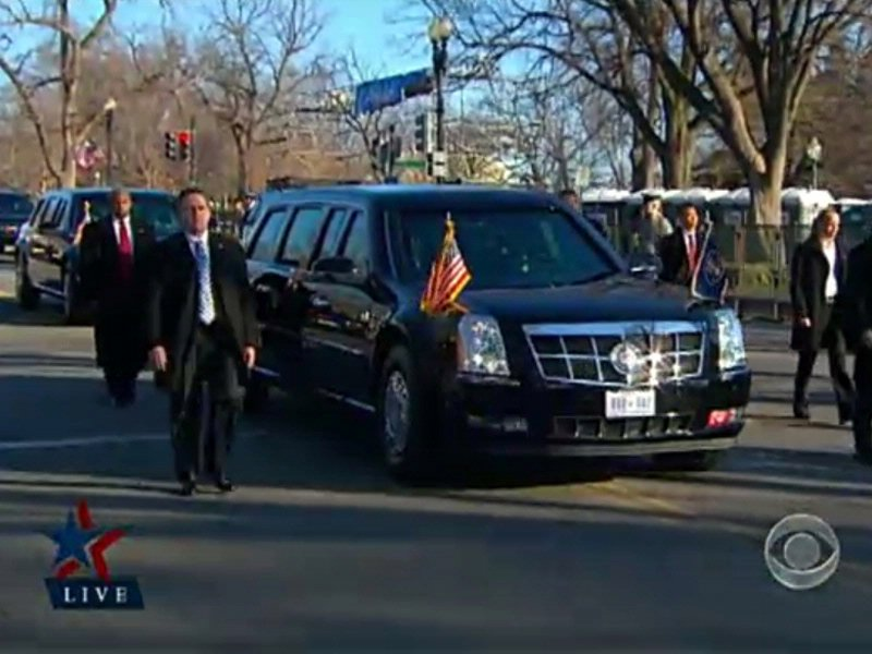 inaugural parade presidential motorcade