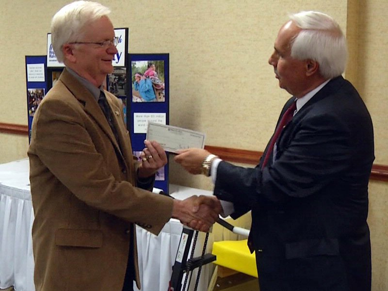 hope haven receives $57,000 from downtown rotary group