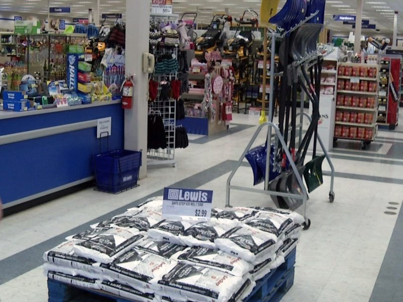 ice melt shovels lewis drug