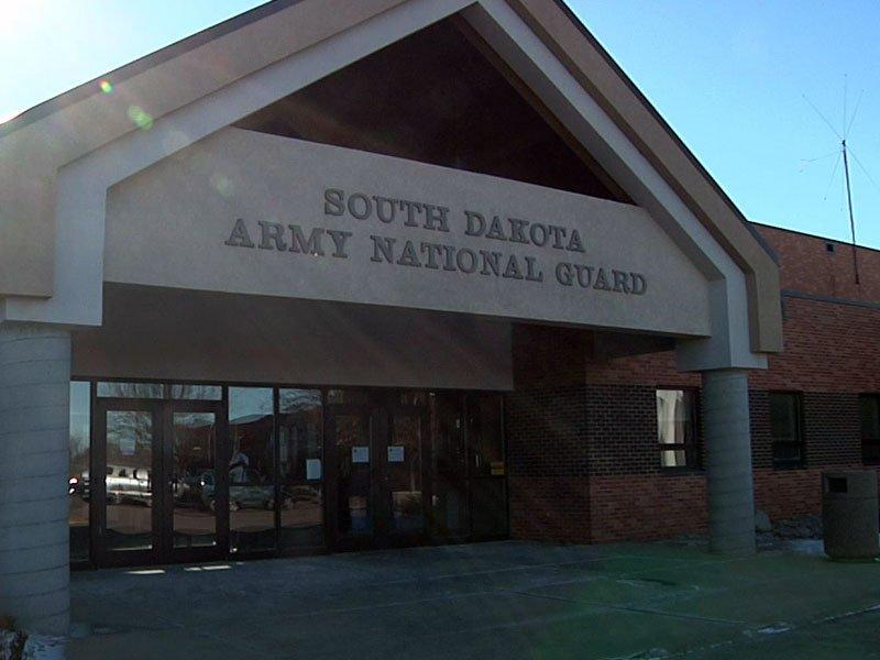 south dakota Army national guard building