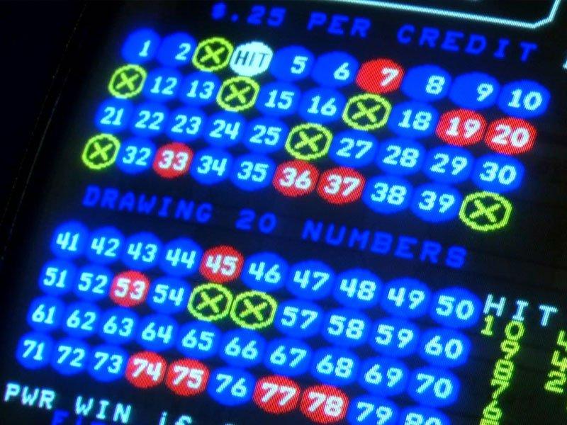 video lottery Keno gambling