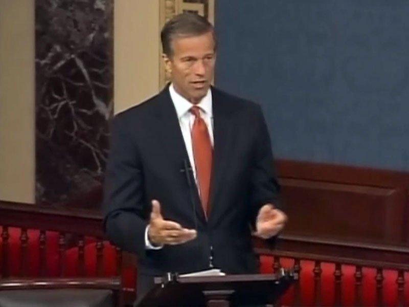 john thune senate floor