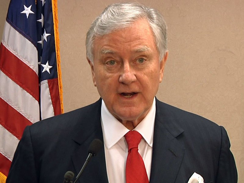 larry pressler running for us senate announcement