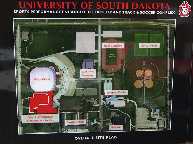 USD new athletic facilities