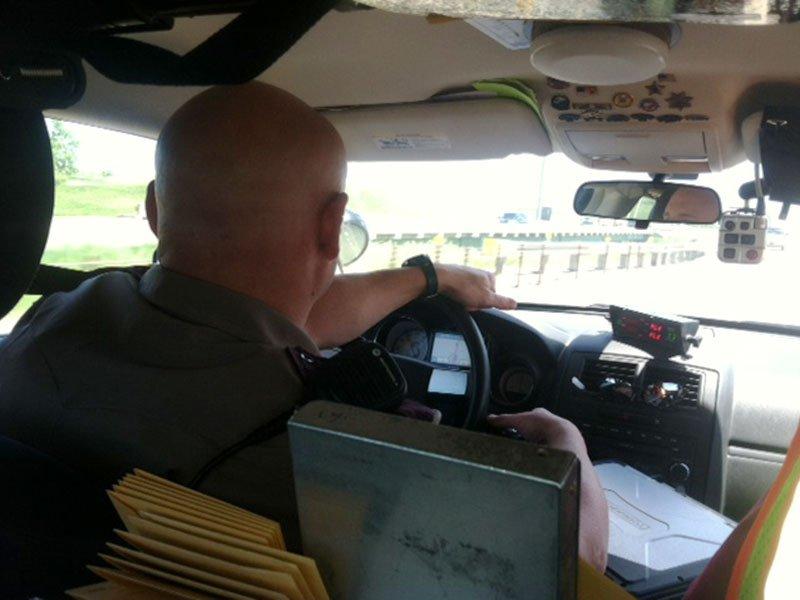 interstate 90 patrols crackdown