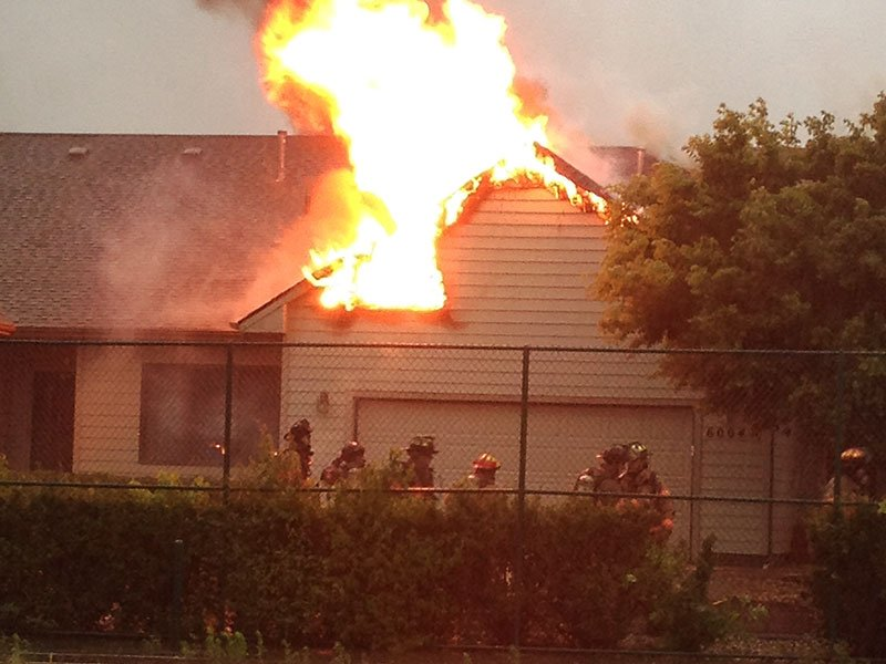 house fire 69th and cliff tomar road billy thomas II