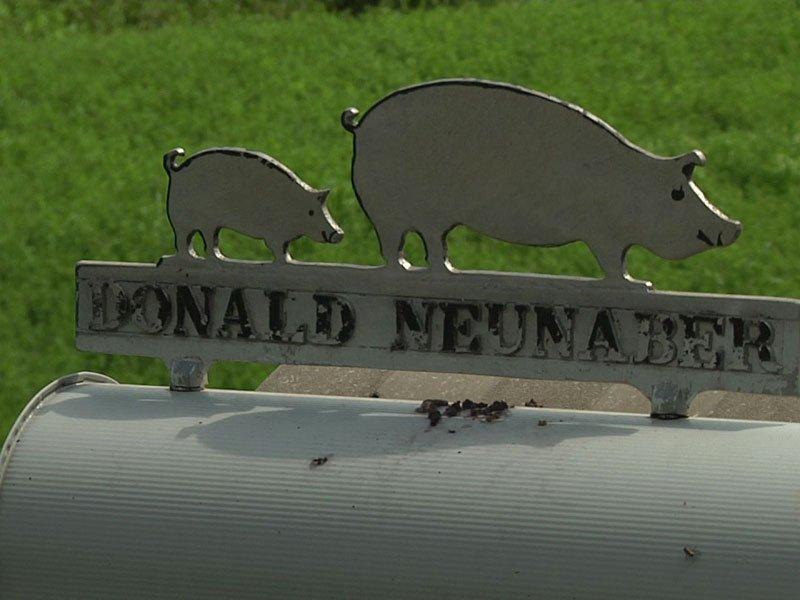 The Neunaber resident mailbox