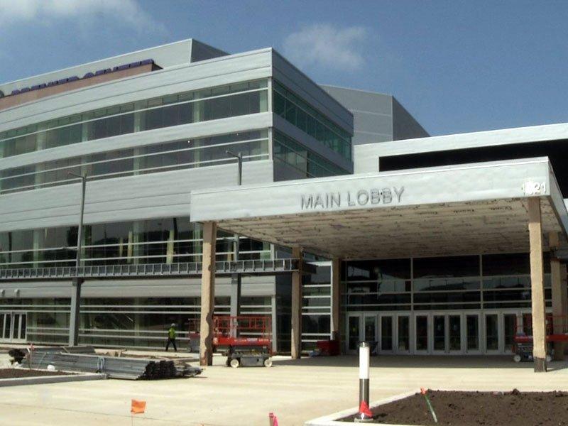 Denny Sanford Premier Center events center construction