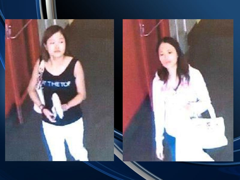 crime stoppers women stolen credit card buying gift cards