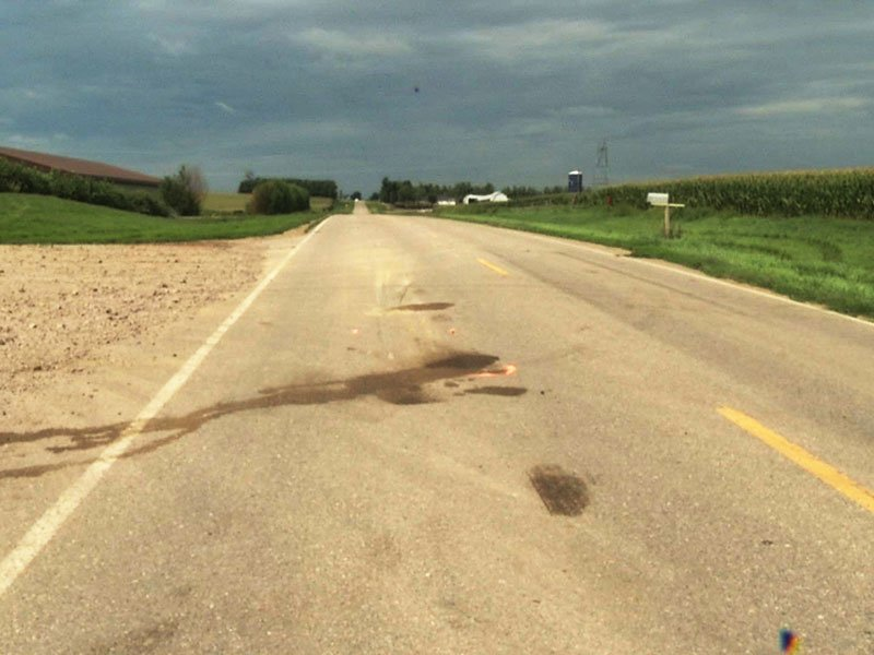 bus crash near inwood, iowa