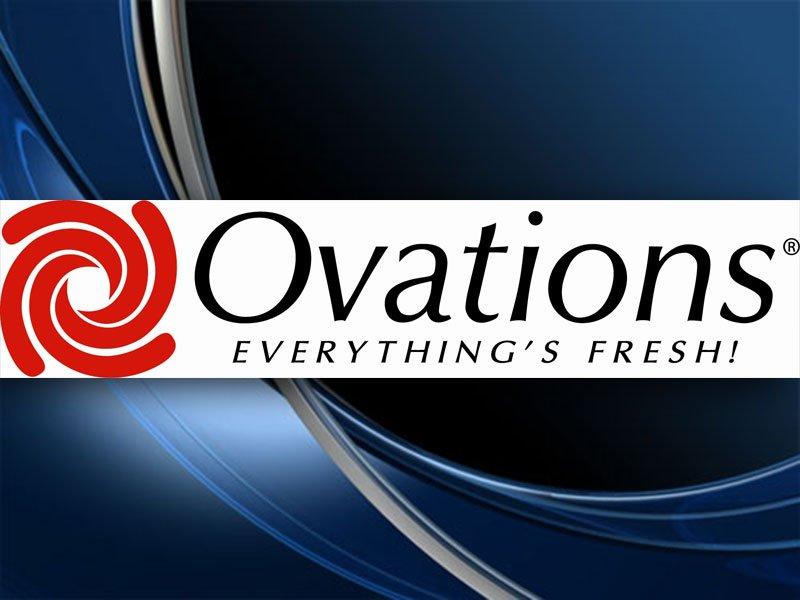 Ovations Food Services Menu