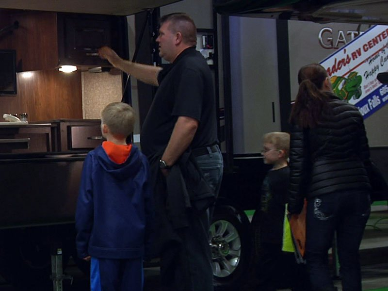 rv show, charity