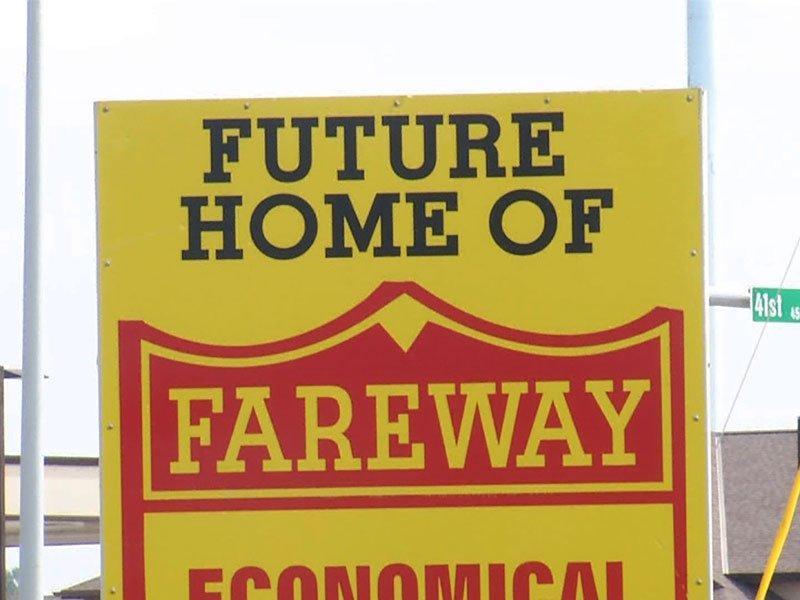 new fareway store south sycamore avenue groundbreaking