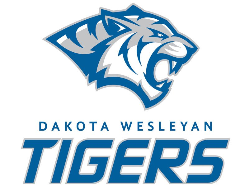 Dakota Wesleyan University logo athletics sports