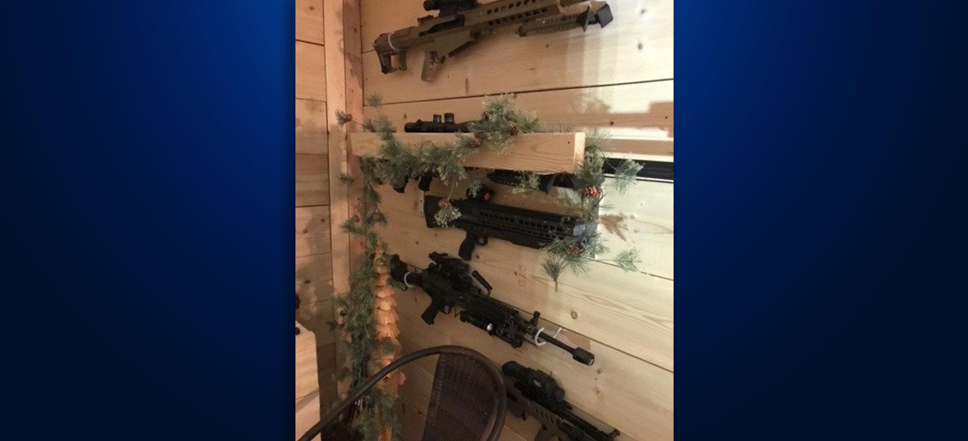 Guns seized Brandon home Artis Kattenburg Iowa shootings