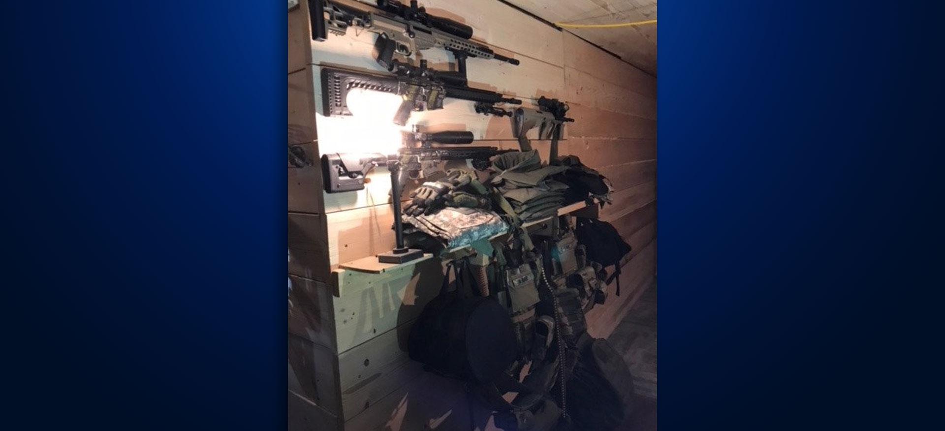Guns seized Brandon home Artis Kattenburg Iowa shooting
