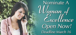 Nominate a Woman of Excellence