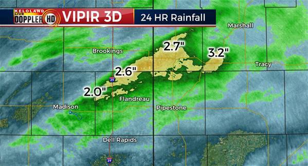 24hr rainfall