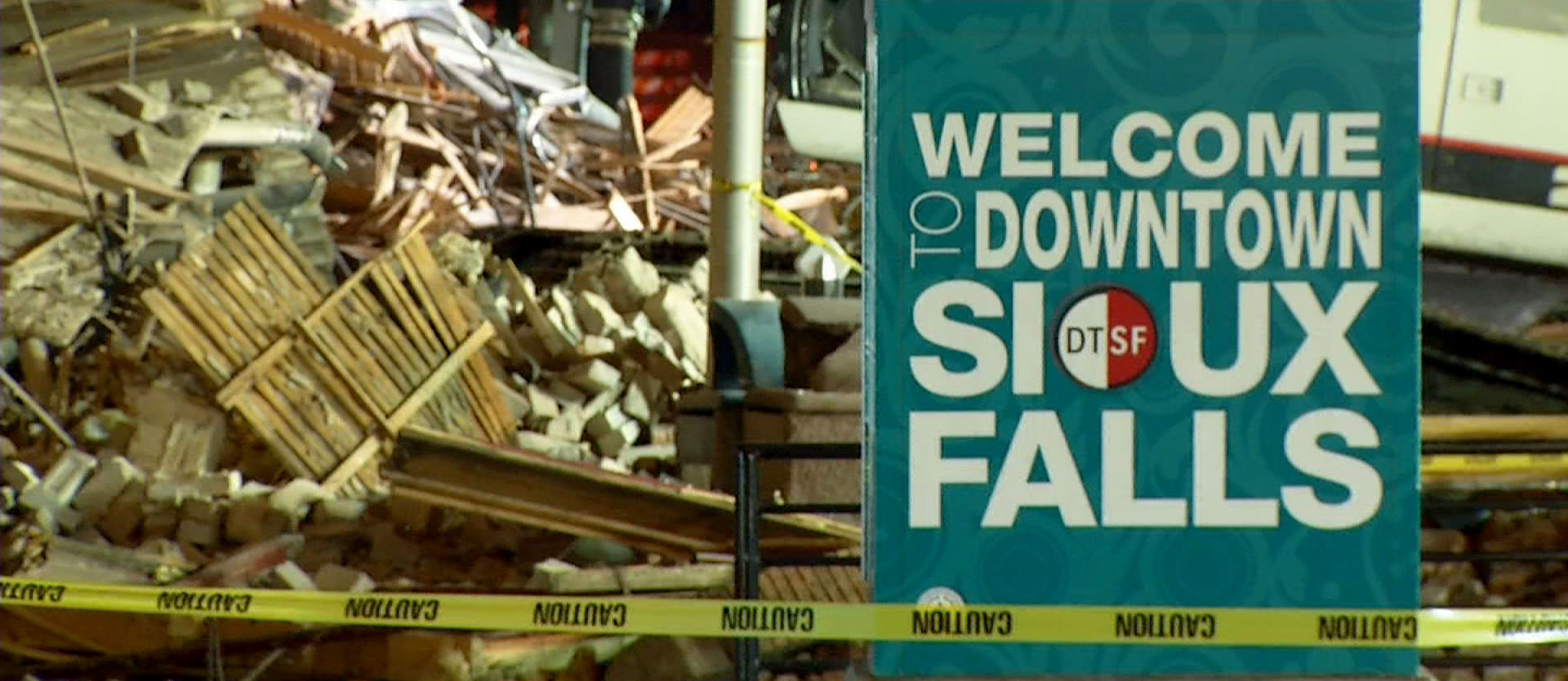 Downtown Sioux Falls building collapse