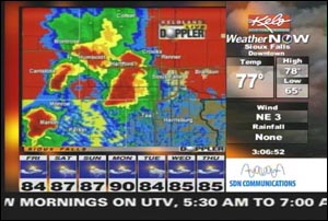 Kelo Weather Map.2000 2009