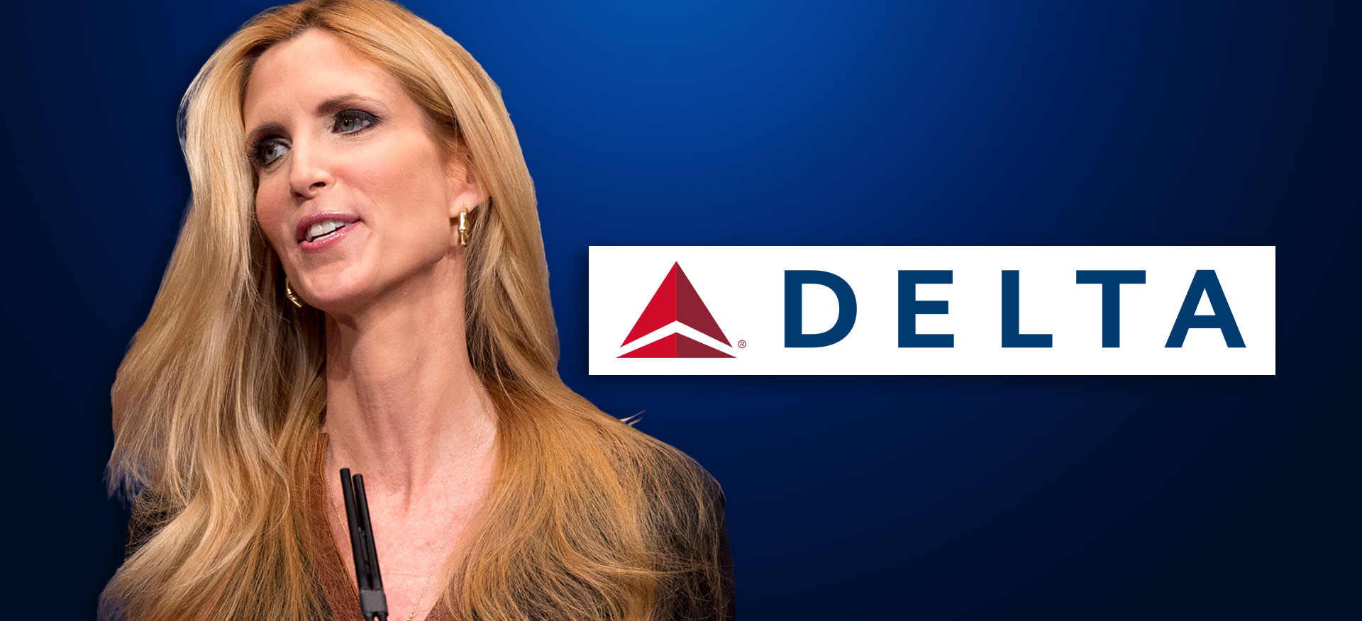 Ann Coulter Delta Airlines