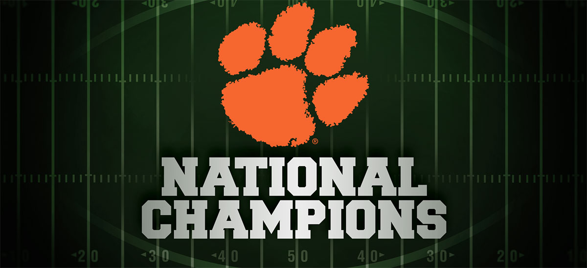 Clemson Football National Champions