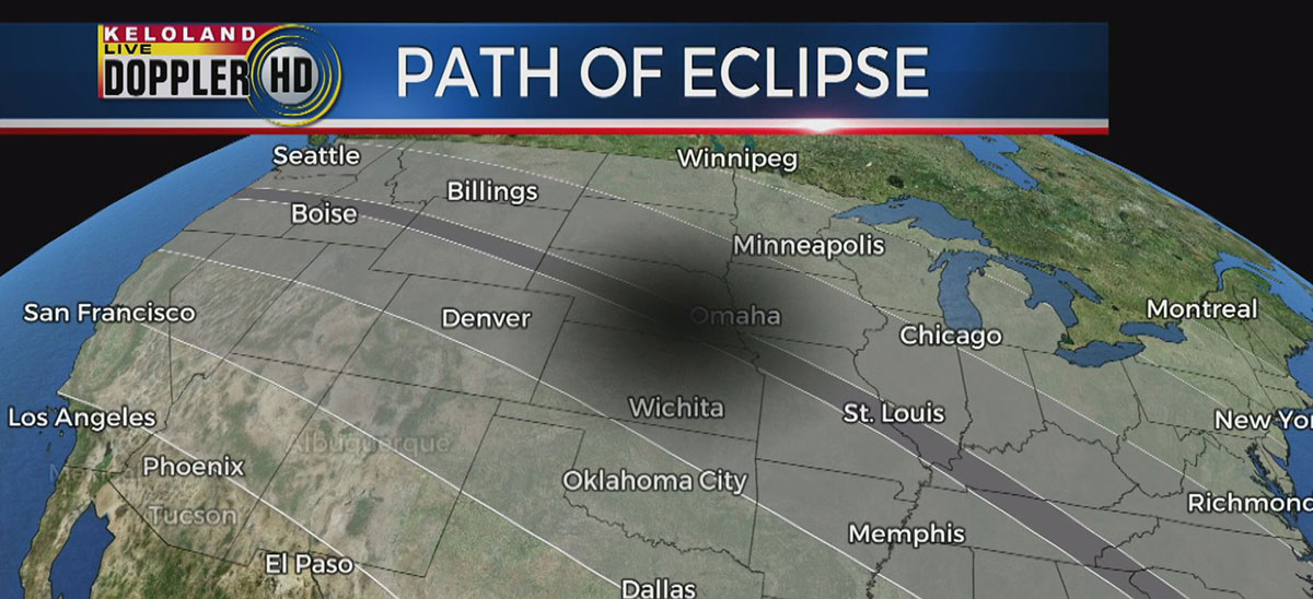 Weather forecast for solar eclipse for Weather forecast solar eclipse 2017