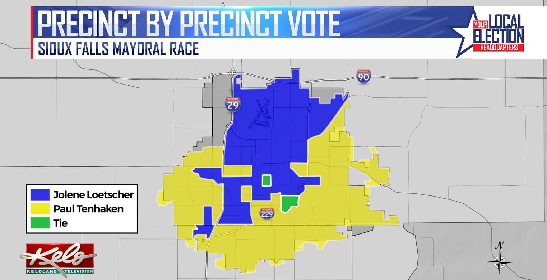 Voting Breakdown By Precincts