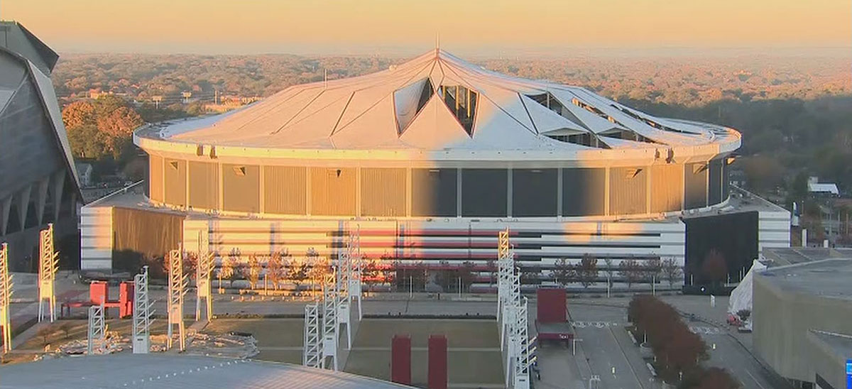 Keloland Auto Mall >> Georgia Dome Imploded In Downtown Atlanta