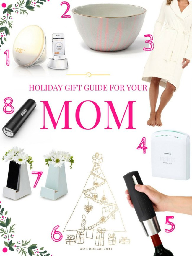 2016 Holiday Gift Guide For Mom