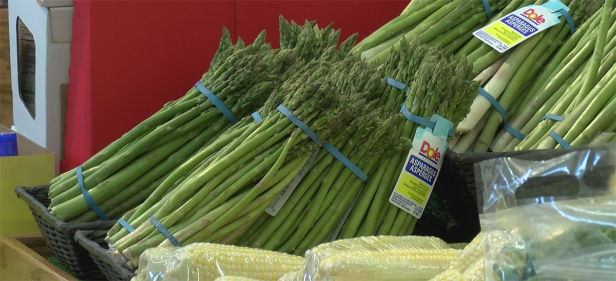 Grocery Store Produce Vegetables Asparagus