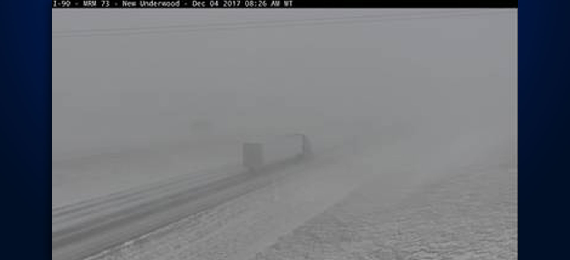 Interstate 90 near Rapid City