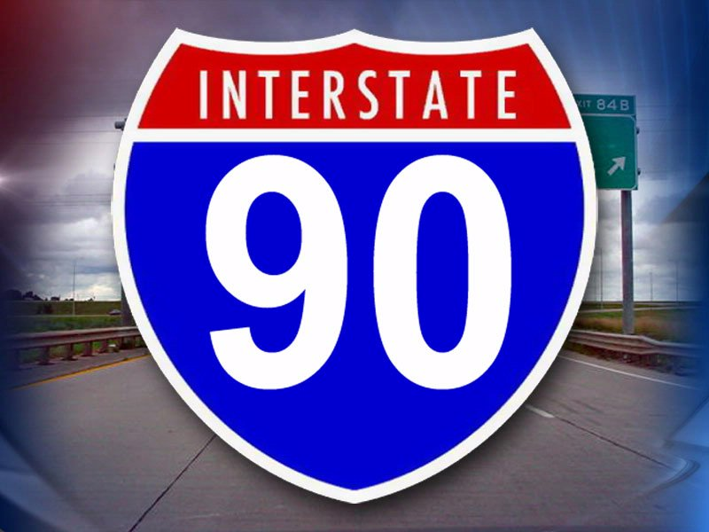 i 90 from mitchell to sioux falls reopened