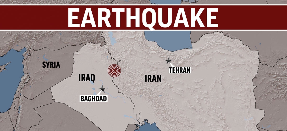 Iran Earthquake Iraq Earthquake