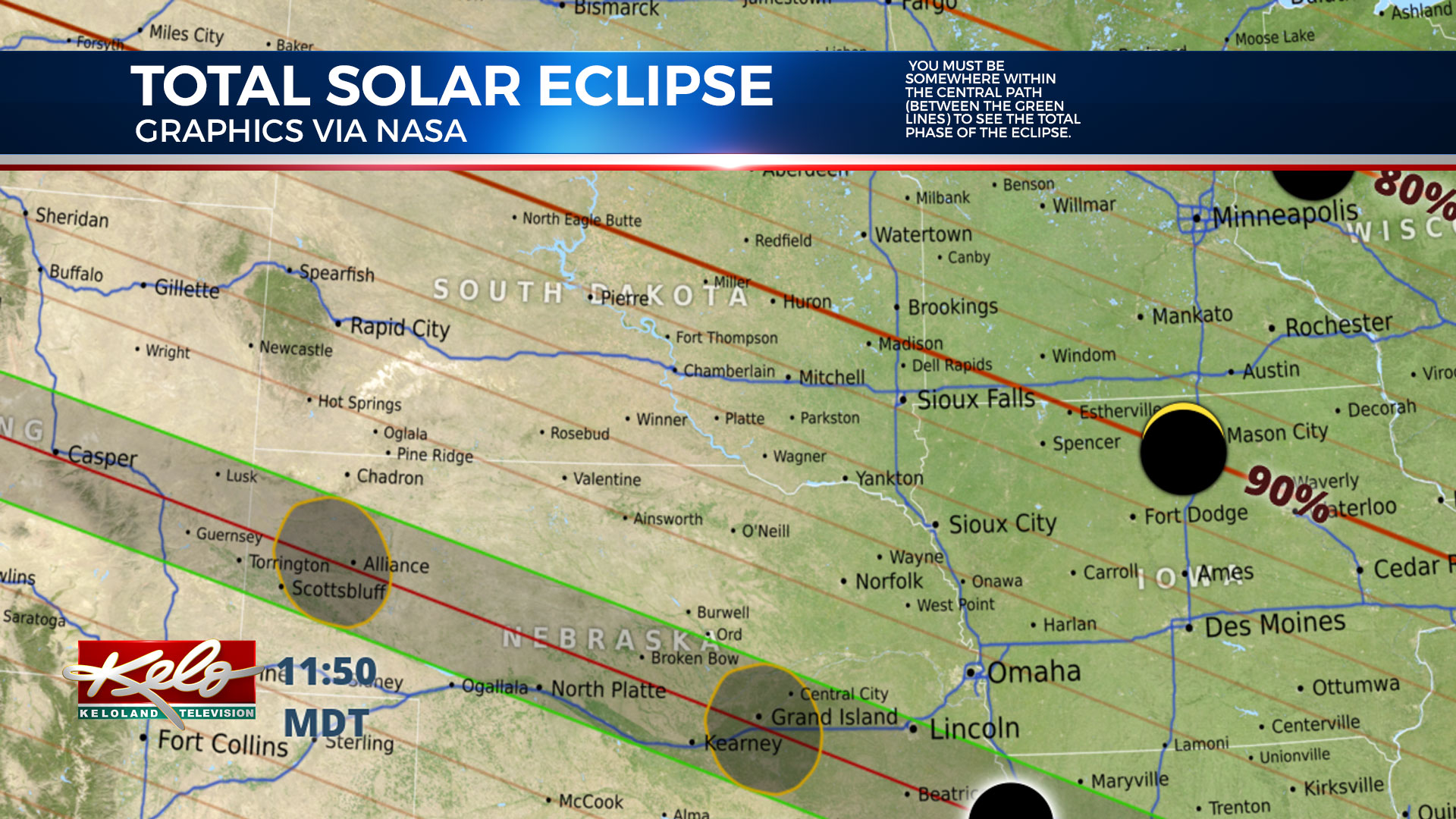KELOLAND Eclipse Map