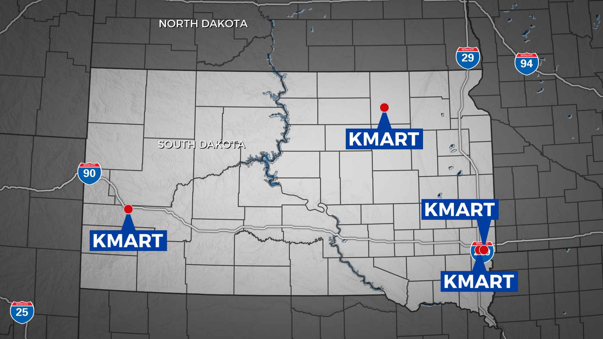 Sioux falls kmart closing kmarts in south dakota includes one that is closing gumiabroncs Image collections