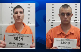 Escaped Inmate Caught In Beadle County; Search Continues For Second Man