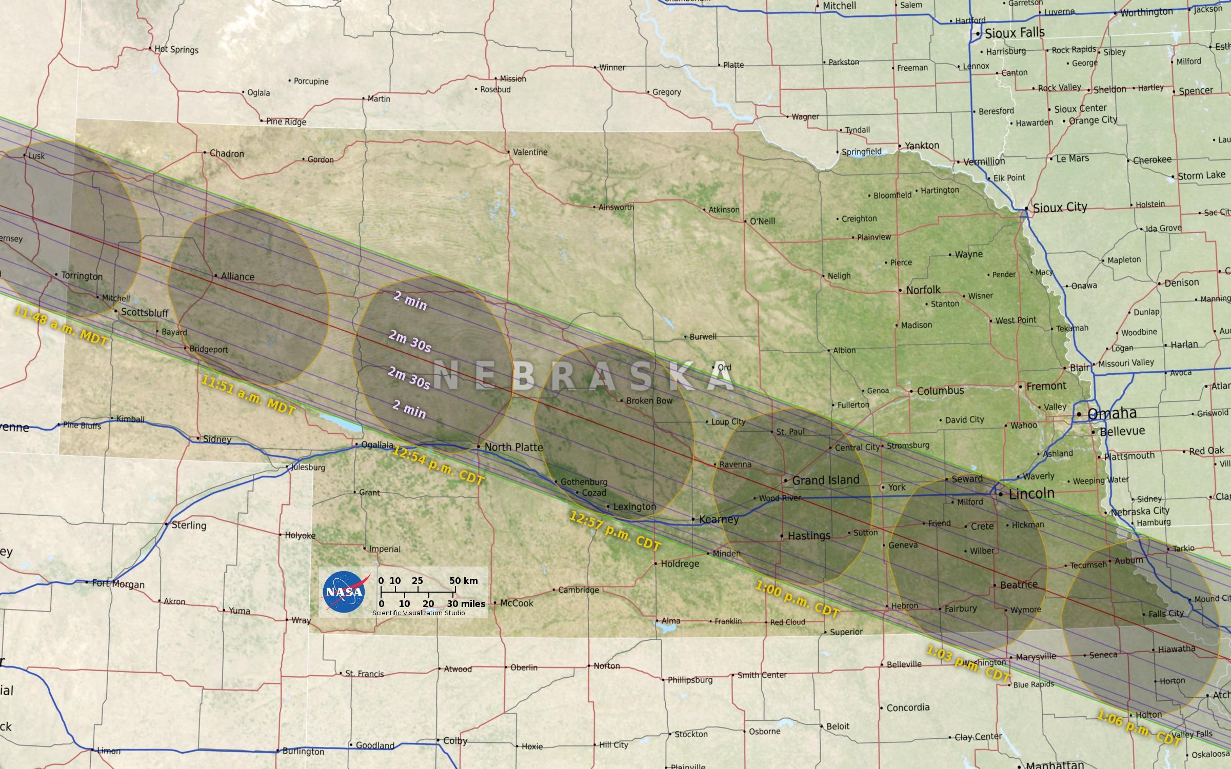 Eclipse 2017 South Dakota SW Minnesota and NW Iowa KELOLAND TV