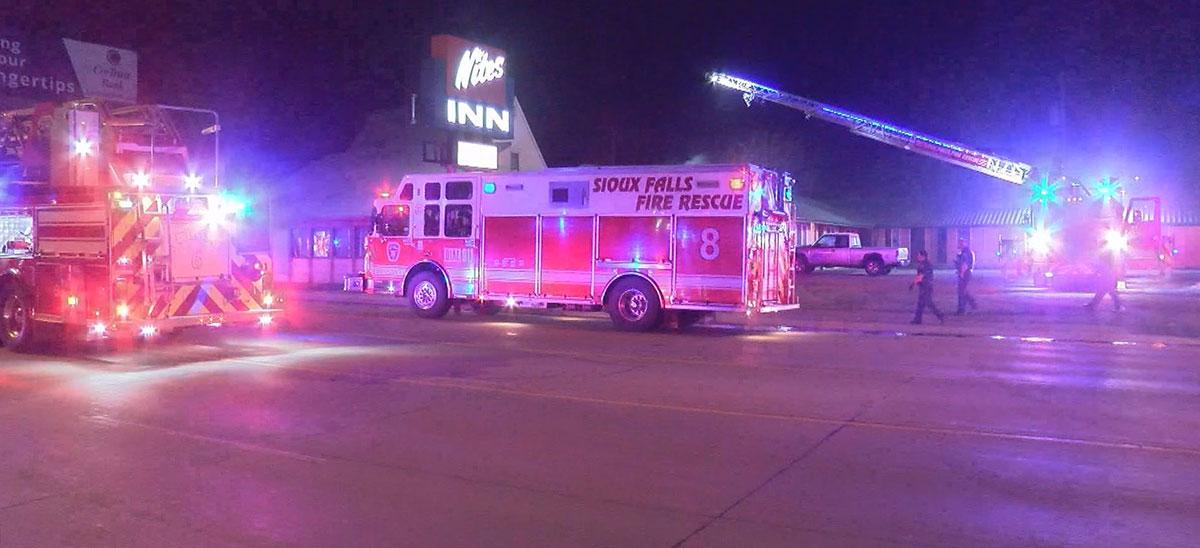 Nites Inn Fire Motel Fire