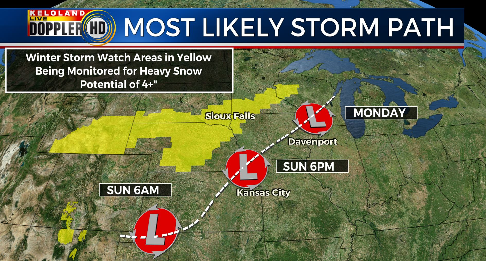 Storm Center Update Friday AM January 19th